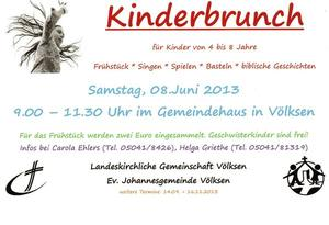 Kinderbrunch fr Kinder von 4 bis 8 Jahren...