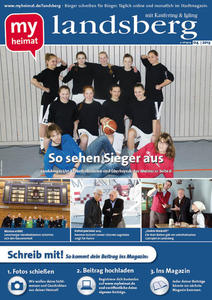 Jetzt neu! Den landsberger 04/2013 hier als E-Paper lesen
