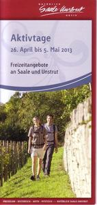 Aktivtage 26.4. - 5.5.2013 an Saale und Unstrut - Tour 9 am 28. April 2013