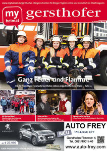 Unsere fnf Damen auf dem Titel stehen bei der Freiwilligen Feuerwehr Gersthofen ihren Mann - Gerhard Fritsch berichtet in unserer Titelgeschichte ber ihr Engagement