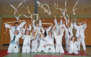Wei-Gelbe Grtel verliehen: Judo-Kids des JV Nippon Lohnde erreichen 8. Kyu