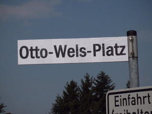 Otto-Wels-Platz fr einen Tag: Platz fr Demokratie in Uetze