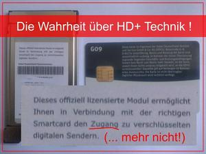 Die Wahrheit ber HD+