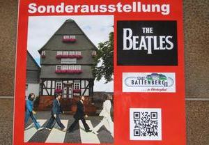 The Beatles in Battenberg.