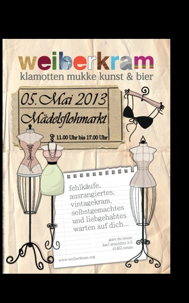 Weiberkram Mdelsflohmarkt