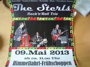 "Rock'n Roll bei GC Am Deister-Golfern: Himmelfahrt rocken mit ""The Sterls"""