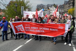 1. Mai 2013 - Maifeier des DGB
