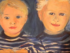 Portraits in Acryl