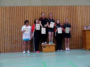 TSV Burgdorf/Badminton: Erster Platz im Damendoppel bei Pokalturnier