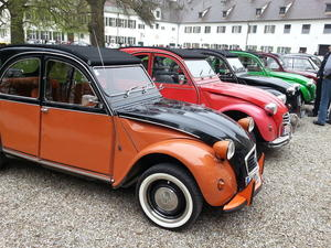 39. Oldtimertreffen auf Schloss Scherneck