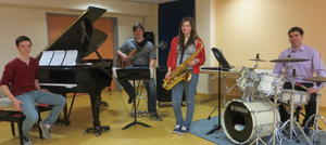 Jazzkonzert in der Musikschule Wertingen