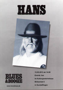 Sonntags-Matinee mit 'Hans Blues'