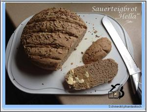 Sauerteigbrot Hella