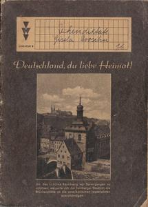 Ein Schulheft aus dem Jahr 1953