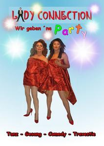 Lady Connection ' Wir gebenne Party' das Show Event im Mai in Augsburg