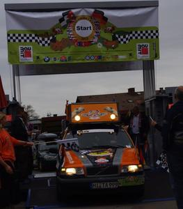 Start der Allgu-Orient-Rallye 2013