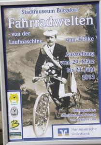 Fahrradwelten, Ausstellung im Stadtmuseum Burgdorf