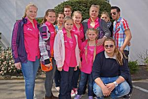 Bild-Renntag mit den Wollnys am 01.05.2013 im GelsenTrabPark in Gelsenkirchen