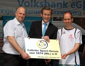 KiSS-Zertifikat und Schnupperwoche in der LSV-KinderSportSchule