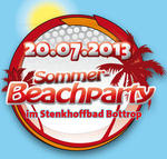***************PARTYALARM IN BOTTROP*************** 6. Sommer-Beachparty im Bottroper Stenkhoffbad