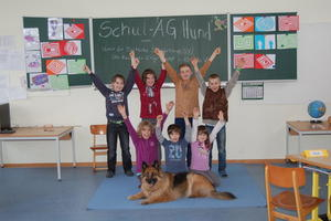 Schul  AG Hund in Engelbostel ein voller Erfolg