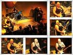 Collage, vom Gig 'Popa Chubby' am 11.5.2013 in der Blues Garage.