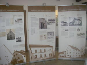 Wanderausstellung Synagogen in Schwaben in Buttenwiesen an Pfingsten geffnet