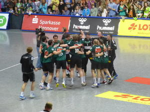 Der Platz 6 in der strksten Handball-Liga ist fr die RECKEN (fast) sicher