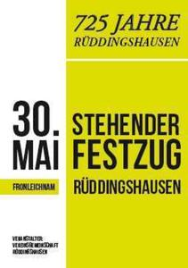 Stehender Festzug in Rabenau-Rddingshausen