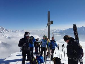 Skitour Grnsteinumfahrung mit Wankreisn, Grnsteinscharte, Tajatrl und Igelsscharte