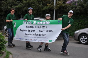 Noch 100 Tage - dann wird Seelze Skater-Hochburg! time 2 skate kommt!