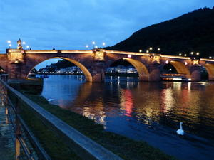 Heidelberg - Die Alte Brcke ber den Neckar!