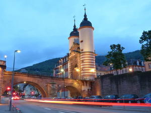 Heidelberg - Brckentor und Alte Brcke!