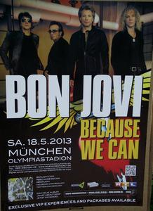 Bon Jovi rockt im Olympiastadion  62.000 begeistere Fans