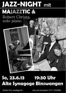 Jazz Night mit Majazztic und Robert Christa