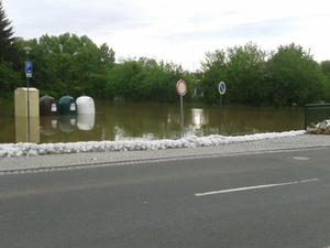 Hochwasser in Camburg
