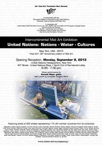 Kunst zum Thema 'Nations - Water - Cultures' in New York