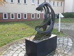 Skulptur 'The Wave' (Die Welle)