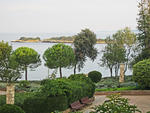 """Insel St. Andreas -  """"Roten Insel"""".  Hotel Istra auf der Insel St. Andreas, """"Rote Insel"""". 11.10.2013."""