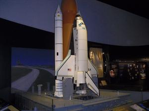 . . . ein Space-Shuttle, aufgenommen im Space-Museum in Washington/USA . . .