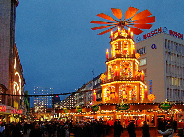hannover, adventszeit, adventspyramide