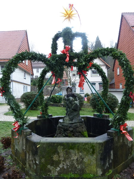 weihnachten, harz, advent, bad-grund, zwergenbrunnen