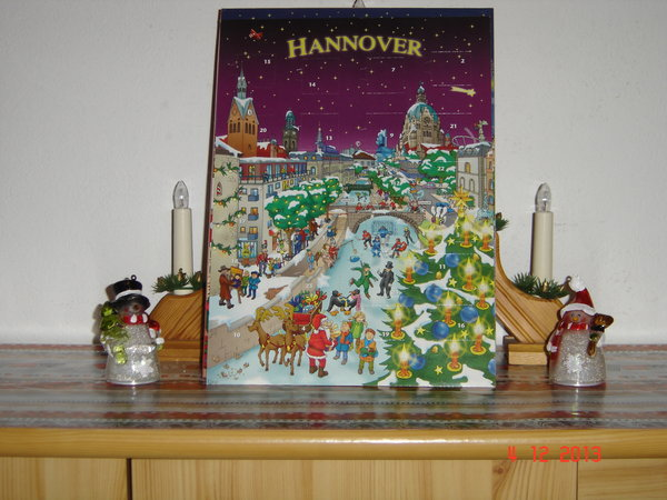 adventskalender, hannover-city