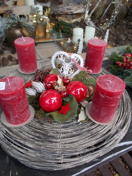 bad-dürkheim, adventskränze