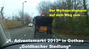 "Zweiter ""1.Adventsmarkt"" in Gothas ""Goldbacher Siedlung"""