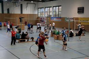 CVJM Volleyball-Turnier mit viel Action