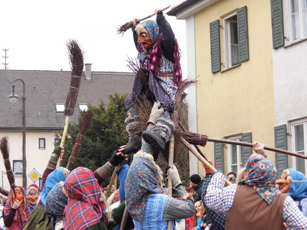 fasching, zusmarshausen, biburger-hexen
