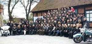 Gruppenfoto: H.O.G. Chapter Hannover