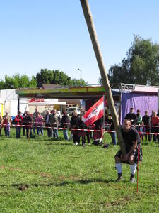 Highlandgames in Krähenwinkel