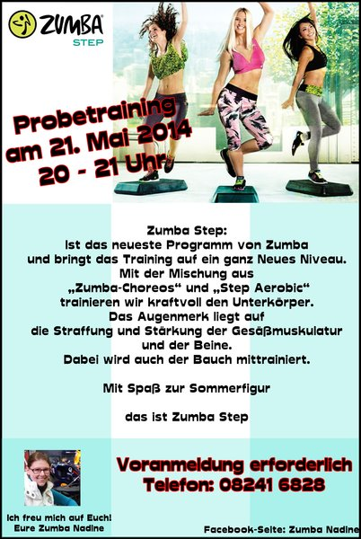 Zumba Step Probetraining in Buchloe